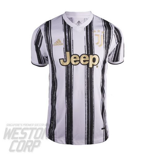Juventus Adult 2020-21 SS Home Authentic Shirt