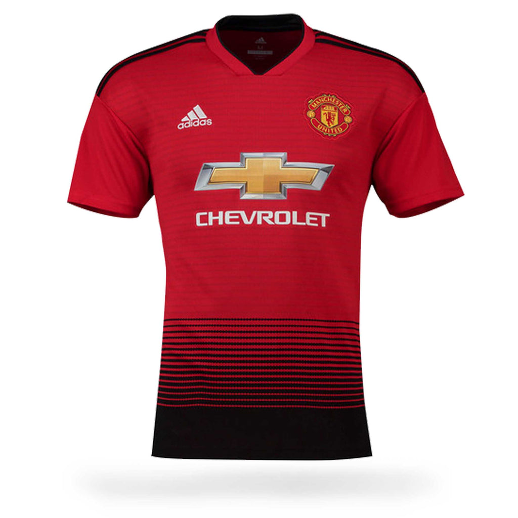 Manchester United Adult 2018-19 SS Home Shirt