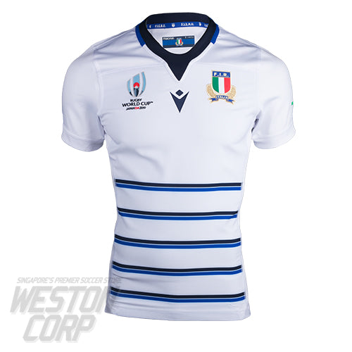 Italy Rugby World Cup 2019 Away Authentic Jersey
