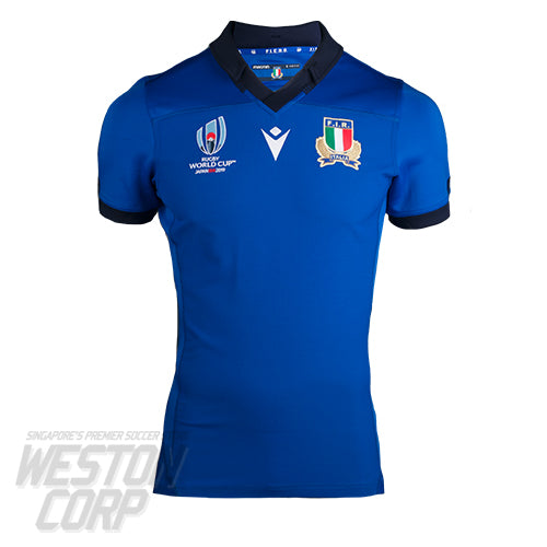 Italy Rugby World Cup 2019 Home Authentic Jersey