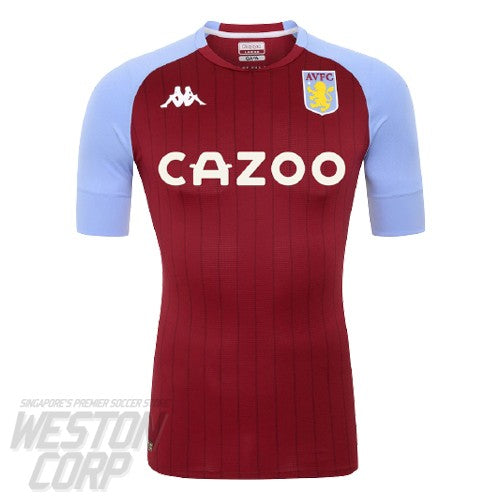 Aston Villa Adult 2020-21 SS Home Authentic Shirt