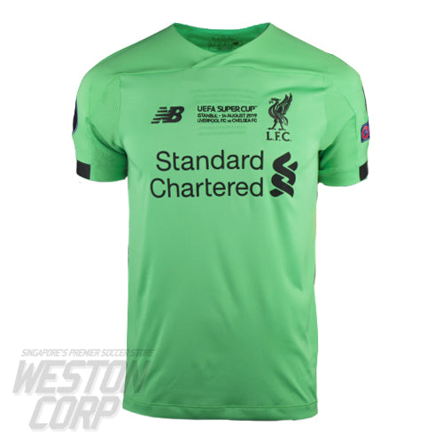 Liverpool FC Adult 2019-20 Super Cup SS GK Away Shirt