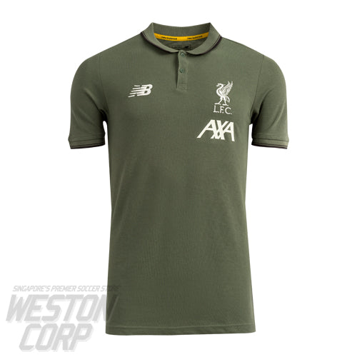 Liverpool FC Adult 2019-20 Khaki Base Polo