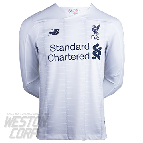 Liverpool FC Adult 2019-20 LS Away Shirt