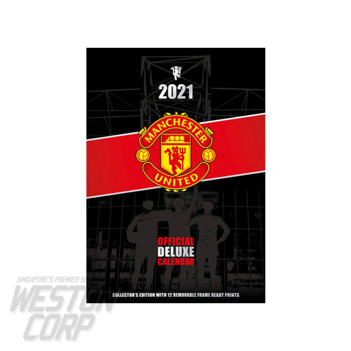 Manchester United 2021 Deluxe Calendar