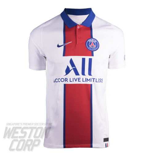 Paris Saint Germain Adult 2020-21 Away Stadium Jersey