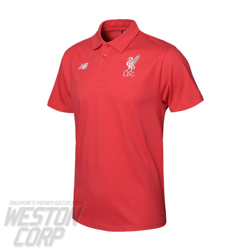LFC 2018-19 Logo Short Sleeve Polo