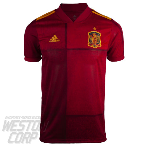 Spain Adult Euro 2020 SS Home Shirt