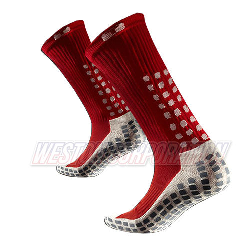 Trusox Mid-Calf (Cushion Red)