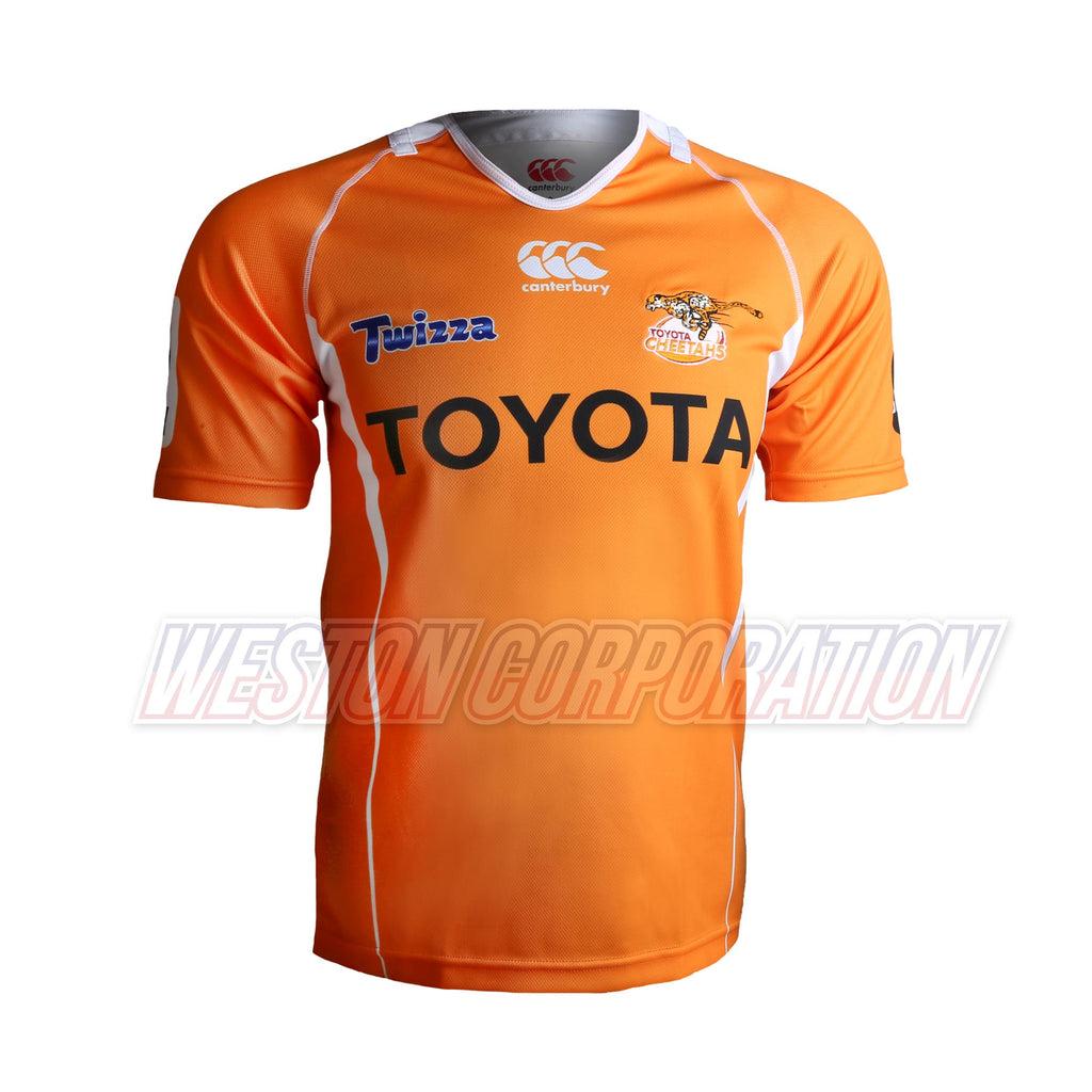 Toyota Cheetahs Rugby 2017 Home Jersey