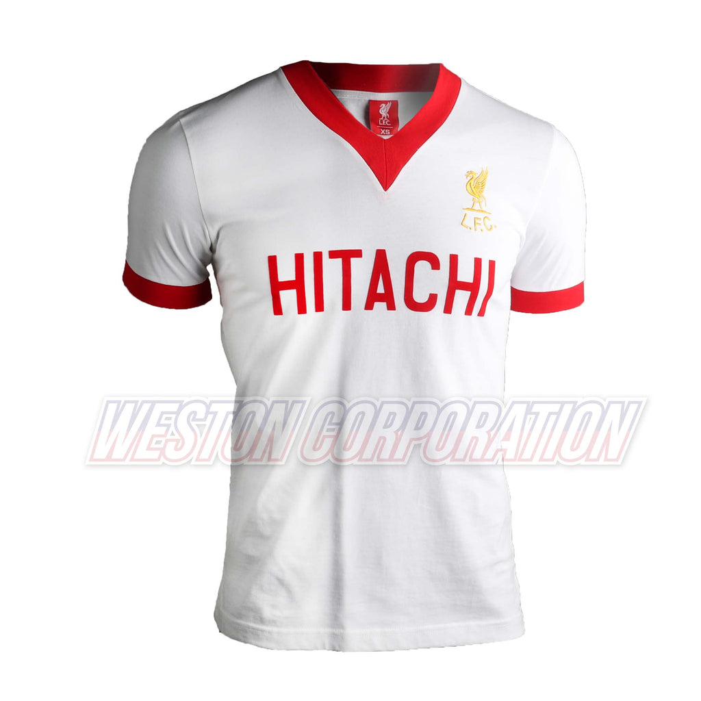 Liverpool FC Adult 1978 Hitachi Away Shirt
