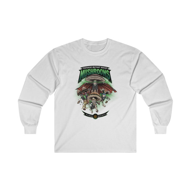 Teenage Mutant Magic Mushrooms: Ultra Cotton Long Sleeve Tee