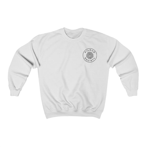 Pileus Society Dragon Protecting Mushrooms Unisex Crewneck Sweatshirt