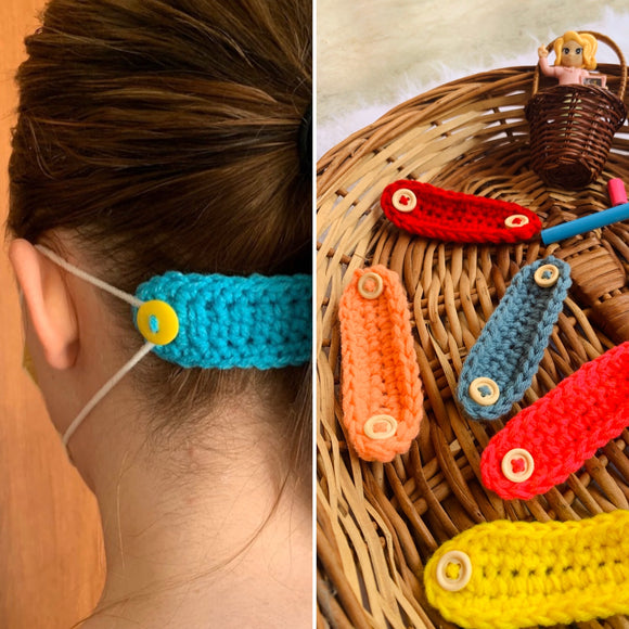 Crochet Ear-Savers