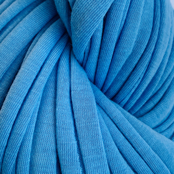 T-shirt Yarn - Medium Blue