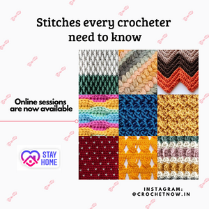 Stitches every crocheter need to know