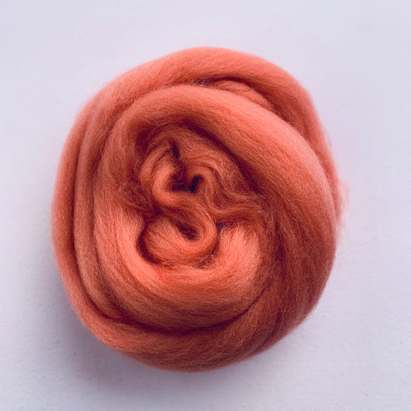 Merino Wool - Orange