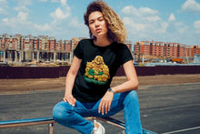 Load image into Gallery viewer, MONEY BUDDHA TSHIRT (WOMEN)
