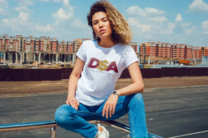DSA FADED TSHIRT (WOMEN)