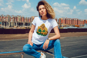 MONEY BUDDHA TSHIRT (WOMEN)