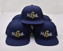 "Load image into Gallery viewer, ""HU$TLE"" SNAPBACK HAT"