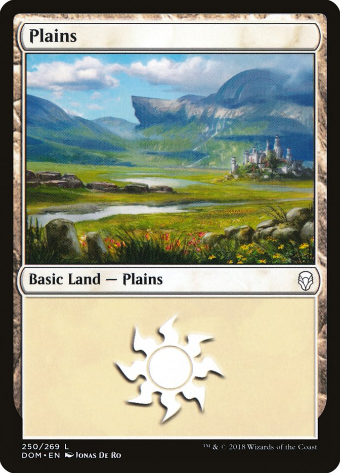 Plains (250) [Dominaria] | The Hall of Heroes