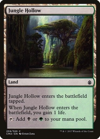 Jungle Hollow [Commander Anthology] | The Hall of Heroes