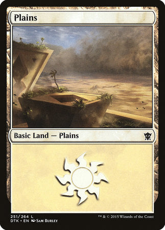 Plains (251) [Dragons of Tarkir]
