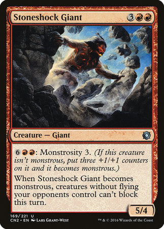 Stoneshock Giant [Conspiracy: Take the Crown]