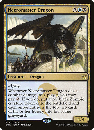 Necromaster Dragon [Dragons of Tarkir] | The Hall of Heroes