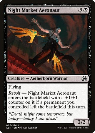 Night Market Aeronaut [Aether Revolt] | The Hall of Heroes