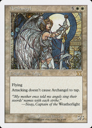 Archangel [Classic Sixth Edition] | The Hall of Heroes