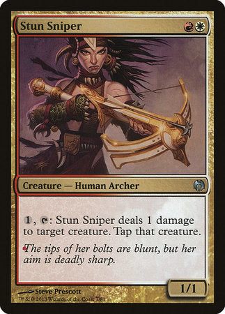 Stun Sniper [Duel Decks: Heroes vs. Monsters]