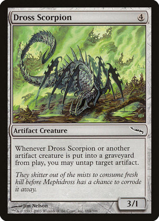 Dross Scorpion [Mirrodin] | The Hall of Heroes