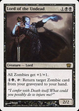 Lord of the Undead [Eighth Edition]