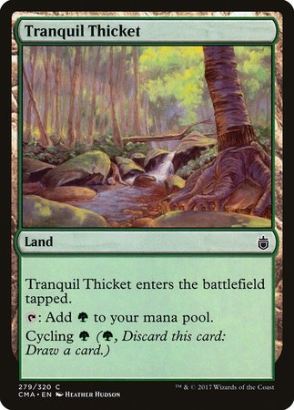 Tranquil Thicket [Commander Anthology] | The Hall of Heroes