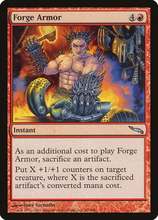 Forge Armor [Mirrodin]