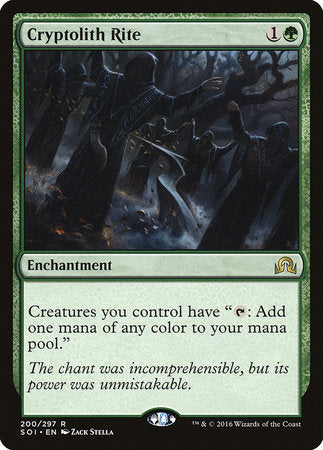 Cryptolith Rite [Shadows over Innistrad]