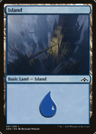 Island [Guilds of Ravnica] | The Hall of Heroes