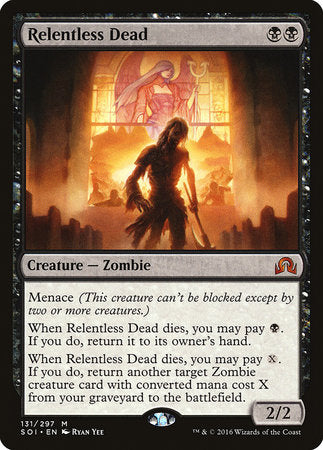 Relentless Dead [Shadows over Innistrad] | The Hall of Heroes