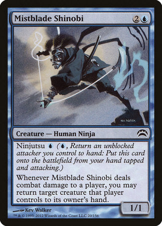 Mistblade Shinobi [Planechase 2012] | The Hall of Heroes