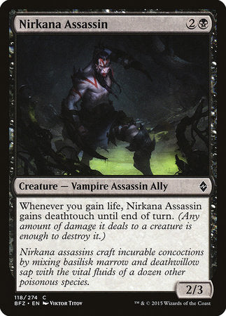 Nirkana Assassin [Battle for Zendikar] | The Hall of Heroes