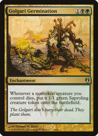 Golgari Germination [Duel Decks: Izzet vs. Golgari] | The Hall of Heroes