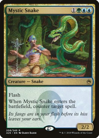 Mystic Snake [Masters 25] | The Hall of Heroes
