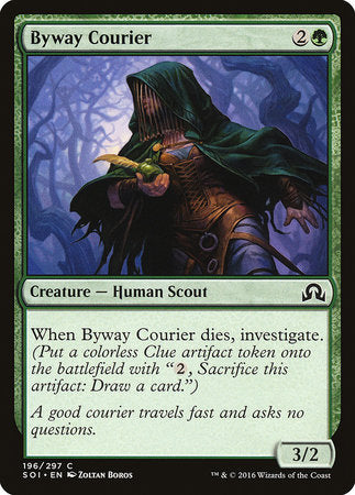 Byway Courier [Shadows over Innistrad] | The Hall of Heroes