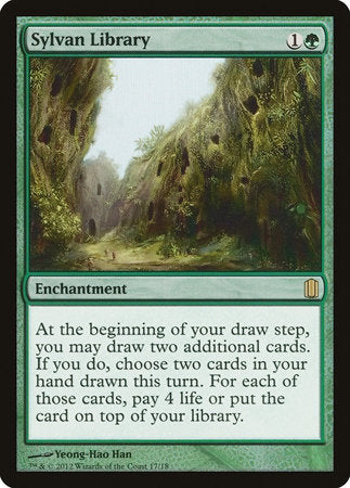 Sylvan Library [Commander's Arsenal] | The Hall of Heroes