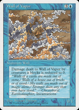 Wall of Vapor [Chronicles] | The Hall of Heroes