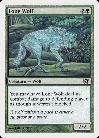 Lone Wolf [Eighth Edition] | The Hall of Heroes