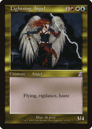 Lightning Angel [Time Spiral Timeshifted] | The Hall of Heroes