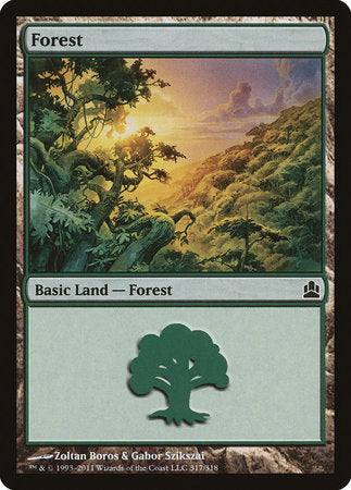 Forest (317) [Commander 2011] | The Hall of Heroes
